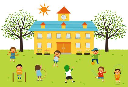 保育園-外遊び